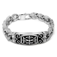 Stylish Great Deal New Arrival Awesome Gift Hot Sale Shiny Vintage Cross Titanium Ring Strong Character Creative Accessory Bracelet [6542699907]