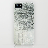 Snowflakes are Winter's Butterflies  iPhone Case by secretgardenphotography [Nicola] | Society6