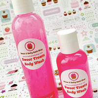 Bubblegum  Sweet Treats Bath/Shower Body Wash-More Yummy Scents to Choose from!!