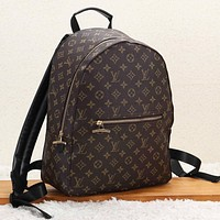 LV Louis Vuitton New fashion monogram check couple travel backpack bag