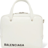 Balenciaga - Triangle Square XS AJ printed leather shoulder bag