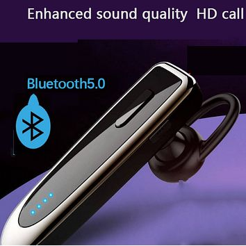 Long battery life standby single ear hanging wireless bluetooth headset
