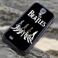 Custom Design Hard Plastic for Samsung S3 i9300 Case and Samsung S4 i9500 Case, The Beatles Abbey Road