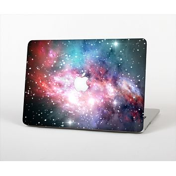 The Colorful Neon Space Nebula Skin Set for the Apple MacBook Air 13""
