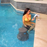 Pool Furniture - Charcoal Granite
