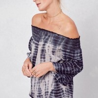 Stacy Tie Dye Off The Shoulder Lovestitch Top