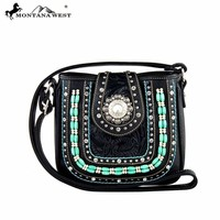 MW269-8287 Montana West Concho Collection Crossbody Bag