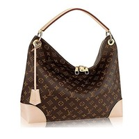Authentic Louis Vuitton Monogram Canvas Berri MM Handbag Article:M41625 Made in France