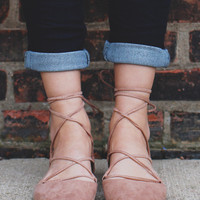 Happy Hour Flats - Taupe