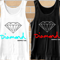 Popular tank top Diamond Supply Co ,tank top mens,Tank top Woman,tank top girl Available for size S,M,L,XL,XXL Black and White