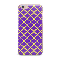 "Matt Eklund ""Culture Shock"" Yellow Purple iPhone Case"