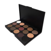 Professional 15 Colors Warm Nude Matte Shimmer Eyeshadow Palette