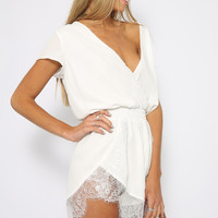 Embrace Playsuit - White