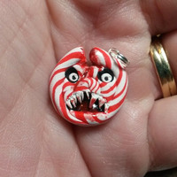 Candy Shop of Horrors Cracked Peppermint Charm