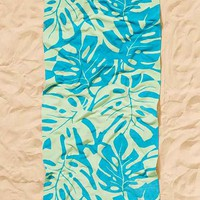 Printed Palm Perfect Beach Towel
