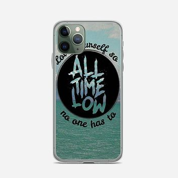 All Time Low Collage iPhone 11 Pro Case