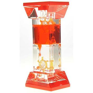 Liquid Motion Bubbler With Two Wheels (Red) U977-TG02 Red