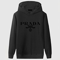 Prada Women Men Fashion Casual Top Sweater Pullover Hoodie