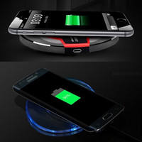 Wireless Charger For Samsung Galaxy S6 S7 Edge S8 Charging Pad Case Bank Power Wireless Charger For Galaxy S8 Plus S7 S6 Note 5