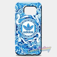 Adidas Logo Stripe Black White Samsung Galaxy S8 Plus Case | casefantasy