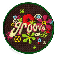 Groovy Patch on Sale for $4.50 at HippieShop.com
