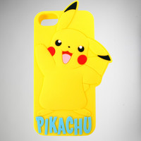 Pikachu 3d Iphone 5 Case