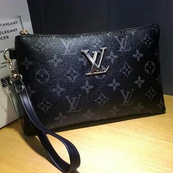 Louis Vuitton LV Women Fashion Leather Handbag Tote Clutch Bag