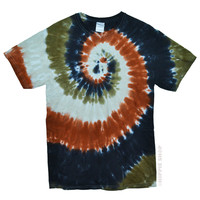 Sahara Spiral Tie Dye T Shirt on Sale for $16.99 at HippieShop.com