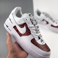 Dior x Nike Air Force 1 all-match casual sneakers shoes