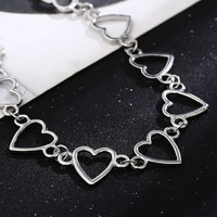 CUTE HEART Chain Choker