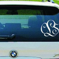 Entwined Car Monogram