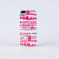 Coco Red Organic for iPhone 4/4s or 5 Case