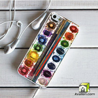 Water Colors iPhone 5 5S Case by Avallen