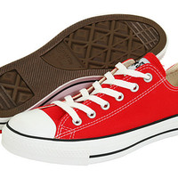 Converses Chuck Taylor All Star Lo Red