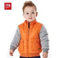 baby boys jackets fashion toddler winter outwear band kids zipper coats children clothes babi clothing facoty