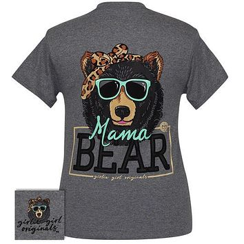 Girlie Girl Originals Preppy Mama Bear Sunglasses T-Shirt
