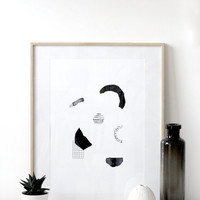 Poster Large 'Storning' - graphic limited edition