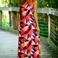 Geo Match Up Maxi, Red