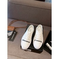 Alexander wang 2021Women Casual Shoes Boots fashionable casual leather08240WK