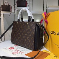 LV Louis Vuitton Men Women Leather Canvas Monogram Neverfull Tote Handbag Shoulder Bag Shopping Bags Purse Wallet Set TRAVEL luggage Backpack