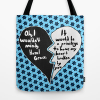 The Fault in Our Stars #9 Tote Bag by Anthony Londer | Society6