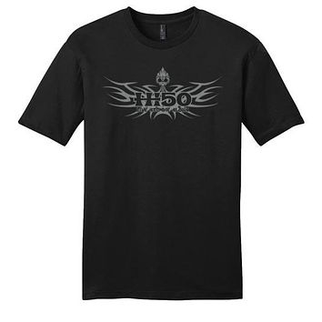 HI-50 LIVE AND DIE ALOHA TRIBAL SHORT AND LONG SLEEVE T-SHIRT