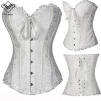 Corset Sexy Corsage Corsets And Bustiers Slimming Overbust Top Corsages Corselet Corset Wedding Plus Size Sexy Lingerie S-6XL