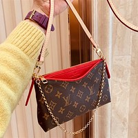 Louis Vuitton LV Monogram Pallas Clutch