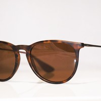 RAY-BAN Womens Designer Sunglasses Brown Erika RB 4171 865/13 15226