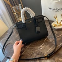 Saint Laurent YSL leather small top handle bag