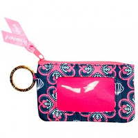 """Simply Southern Key Chain & ID Holder """"Sea Clover"""""""