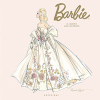 """""""Barbie"""" Glamour Calendar Presenting Stylish Fashions-in Four Languages"""