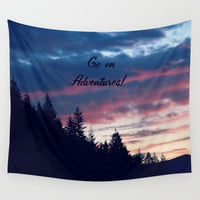 Go On Adventures! Wall Tapestry by RDelean