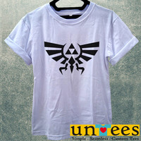 Zelda Triforce Logo Women T Shirt